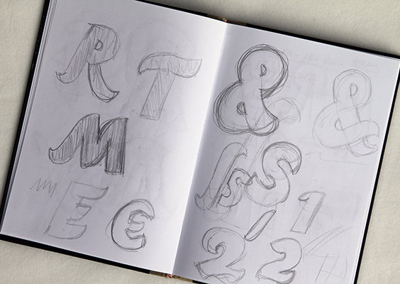 Liebelei. The Loving Typeface by Ekke Wolf